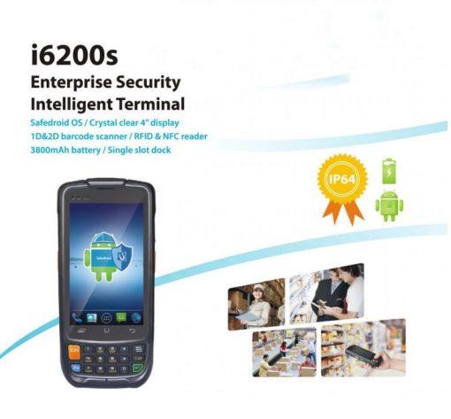 Urovo i6200S El Terminali Android