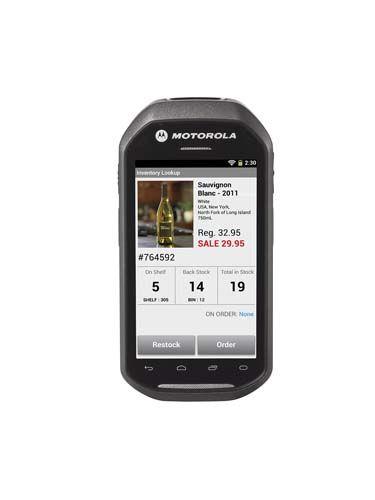 Motorola Zebra MC40 El Terminali