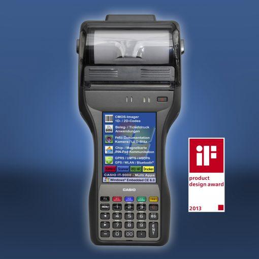Casio IT-9000 IT9000 Yazıcılı El Terminali
