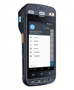 UROVO i9100 Android Yazıcılı El Terminali