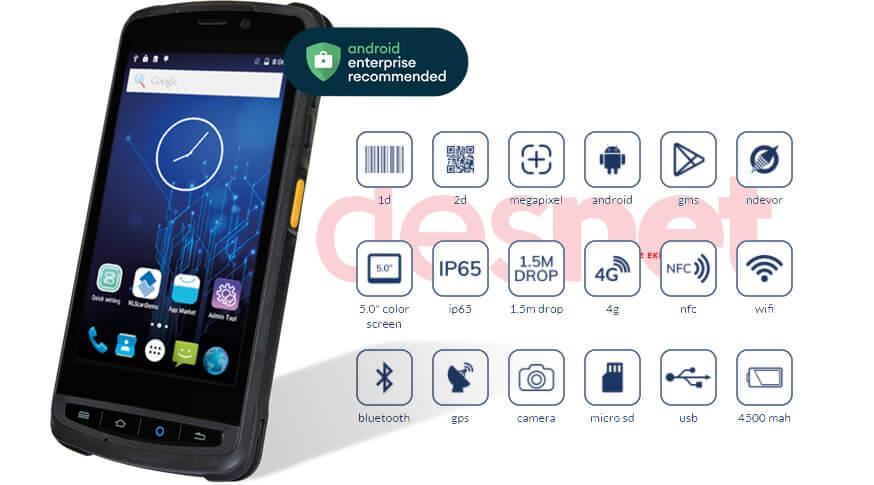 Newland MT90 PRO Android El Terminali